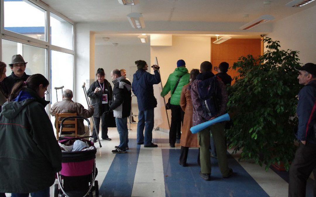 28. 11. 2014 – Bratislava – u ochrankyni ľudských práv